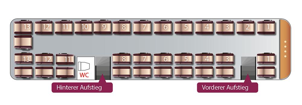 Schuy Reisen_Sitzplan_Van Hool_Premium Bistro Bus